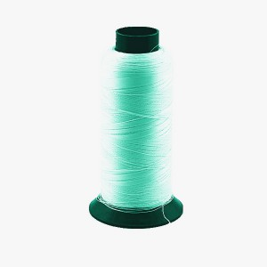 green glow embroider thread